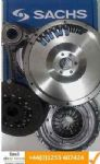 VW GOLF MKV 2.0TDI 16V FLYWHEEL, CLUTCH PLATE, SACHS COVER, CSC & ALL BOLTS